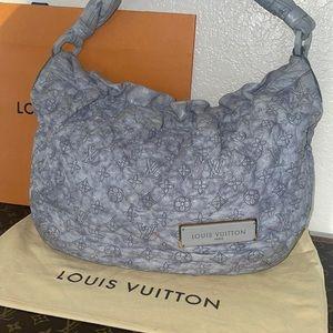 Authentic Louis Vuitton Olympe Nimbus GM HOBO bag